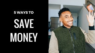 5 WAYS - HOW TO SAVE MONEY | PERSONAL FINANCE & BUDGET