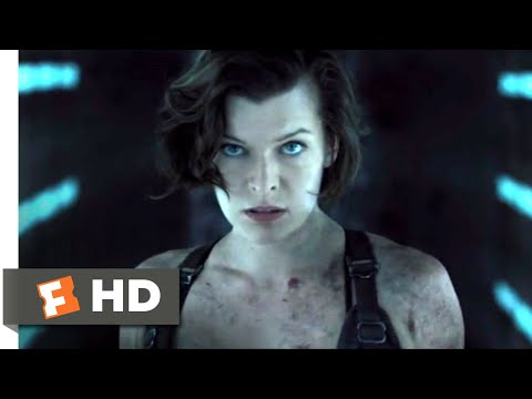 Resident Evil: The Final Chapter (2017) - Laser System Reactivated Scene (9/10) | Movieclips