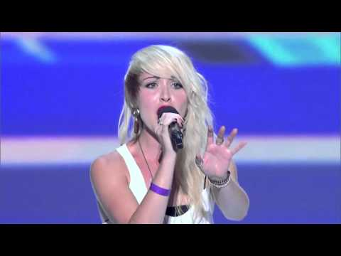 Julia Bullock - Pumped up kicks (The X Factor USA 2012)