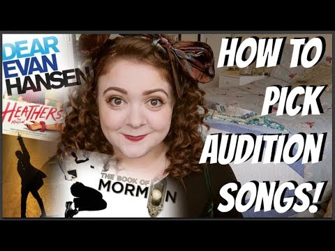 HOW TO PICK AUDITION SONGS! Amy Lovatt