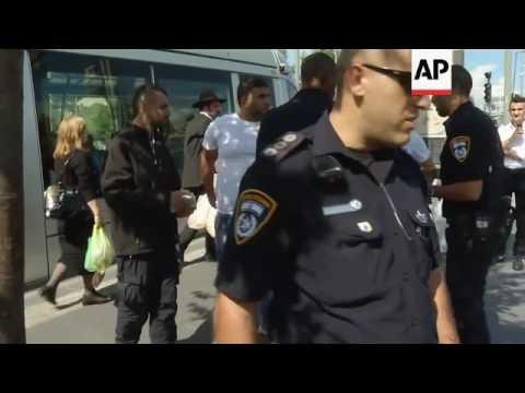 Israeli police increase presence on streets