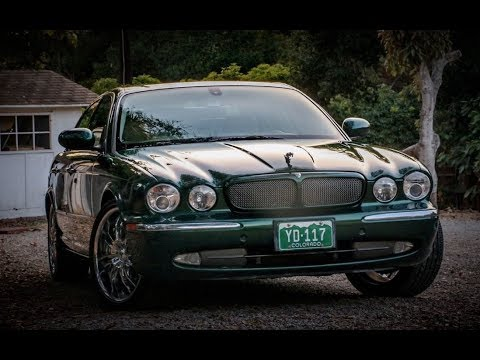 High Mile 2004 Jaguar XJR   One Take