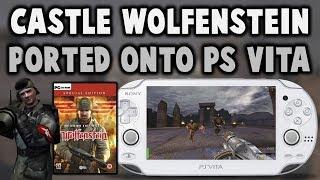 Return to Castle Wolfenstein Ported Onto PS Vita!