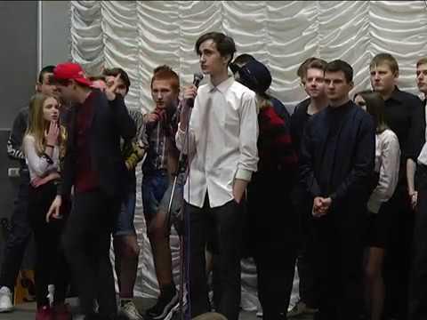 2017-03-22 г. Брест. Лига КВН среди школьников и студентов. Новости на Буг-ТВ.