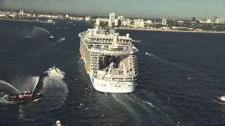 Allure of the Seas homecoming