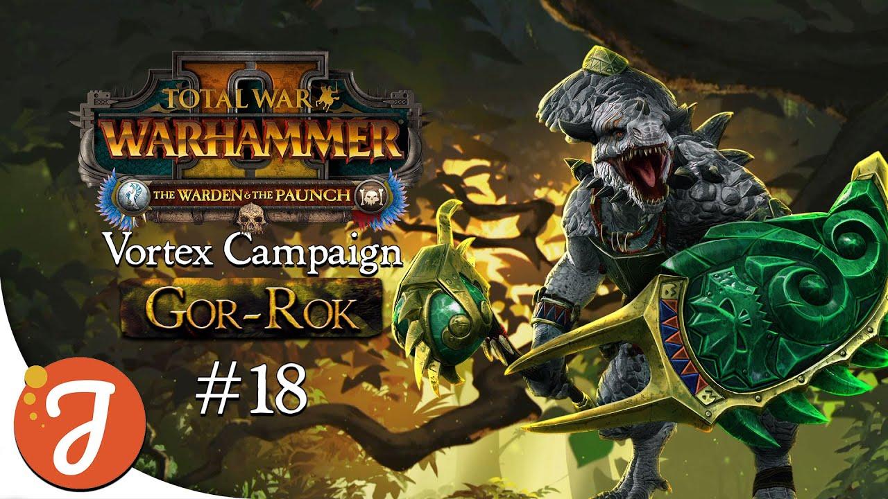 Tortoise & The Hare | Gor-Rok Campaign #18 | Total War: WARHAMMER II