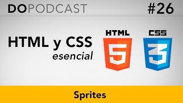 HTML y CSS Esencial #26 - Sprites