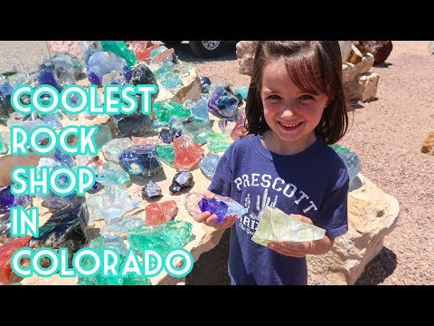 Coolest Rock Shop In Colorado!- The Gold Mine Rock Shop And Gems
