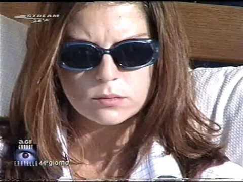 Marina La Rosa GF1 giorno 44 anno 2000