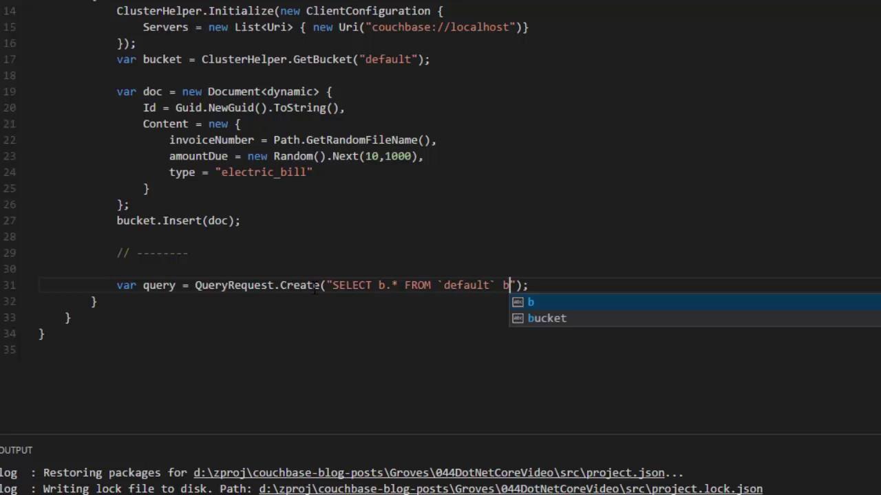 NET Core and Visual Studio Code [Video] - DZone Integration