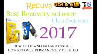 Recuva is Best Data recovery software for windows in 2017? Deep Scan recovery tutorial [HD]