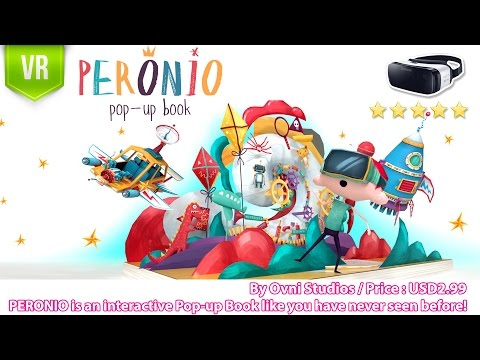 Peronio Pop-Up Book Gear VR - An interactive VR 3D Pop-up Book like you have never seen before!