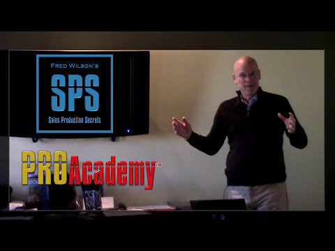 7 Super Secrets For Success In Real Estate Sales by Fred Wilson, The AgentCoach™