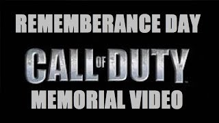 Rememberance Day Call of Duty Memorial Video Thumbnail