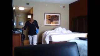 هذا ما تفعله عاملات غرف الفنادق في غيابكم!!