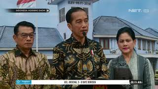 Presiden Jokowi Berikan Dukungan untuk Ani Yudhoyono