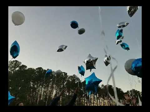Balloon Release...March 4, 2018