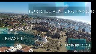 Drone Portside Ventura Harbor