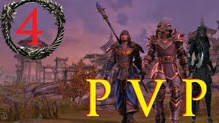 The Elder Scrolls Online - Dragonknight | Sorcerer | Nightblade- Commentary - Episode 4 [Gameplay]