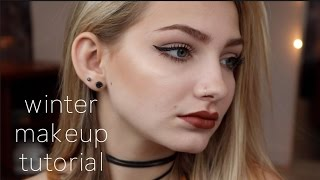 Winter Makeup Tutorial 2016 | Hannah Blair