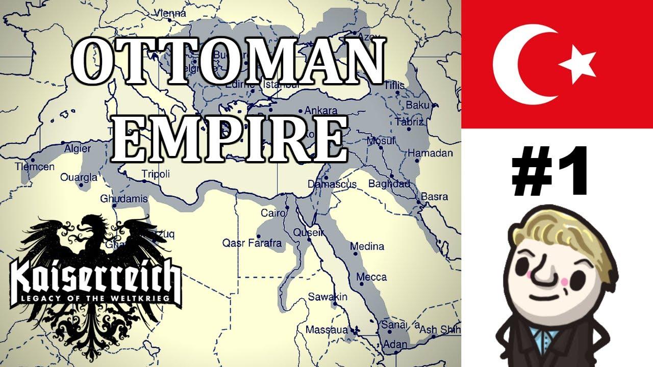 HoI4 - Kaiserreich - Ottoman Turkey - Curing the Sick Man