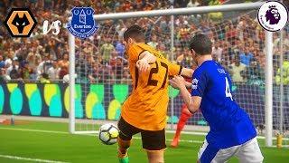 Wolverhampton Wanderers vs Everton Prediction   EPL 2018/19 Gameweek 1   PS4 PES 2018 Gameplay