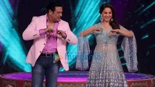 Madhuri Dixit  Govinda At Dance Deewane Show Madhuri Dixit Govinda Dance