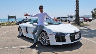 Test Driving My Dręam Car | Audi R8 V10 Spyder!!!
