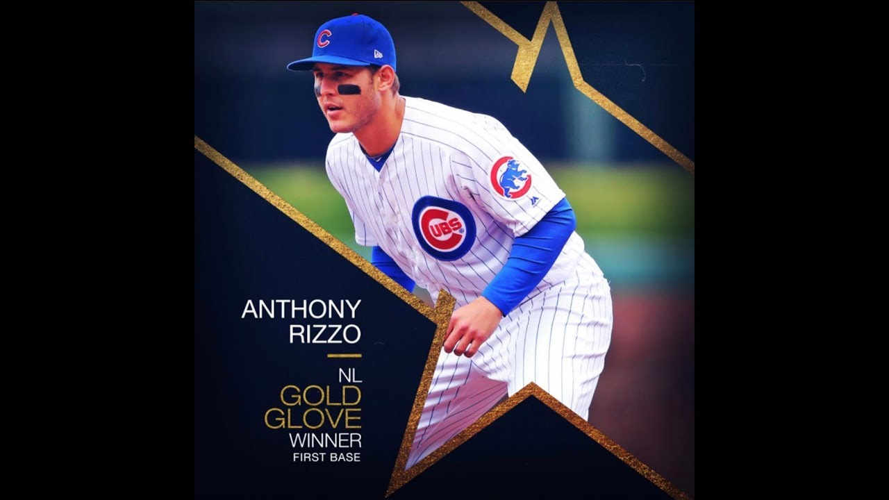Anthony Rizzo Wins His 3rd Career Gold Glove