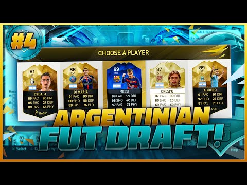 FIFA 16 AMAZING ARGENTINA DRAFT #4  / BEAST SQUAD / Best Possible Argentina Draft? / Ultimate Team