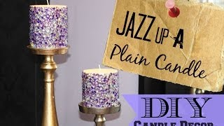 DIY Candle Decor Thumbnail