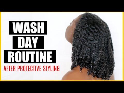 WASH DAYYY | TYPE 4 LOW POROSITY HAIR