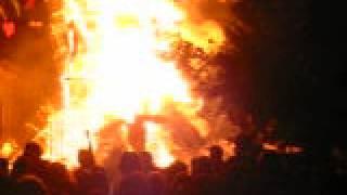 Muñeco se quema - Año Nuevo - La Plata