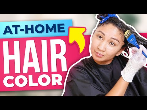 HOW I COLOR MY HAIR AT HOME! AT-HOME HAIR COLOR EXPERIENCE!