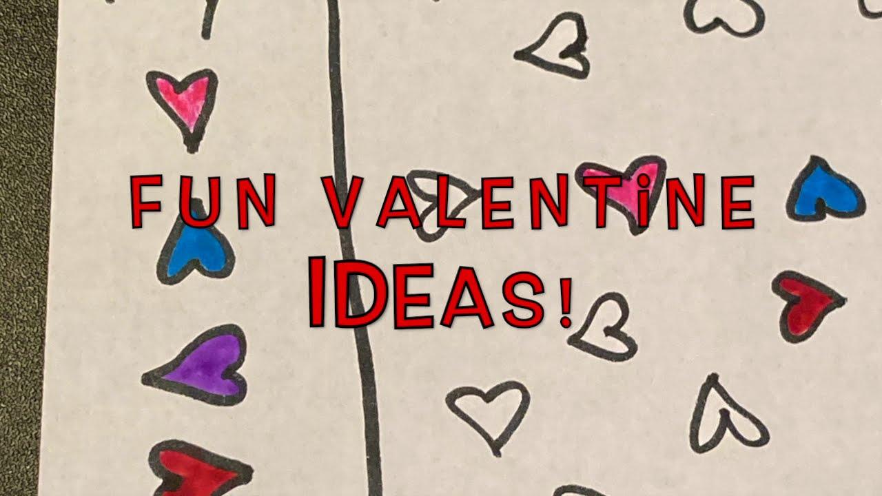 Valentine Hearts Activity