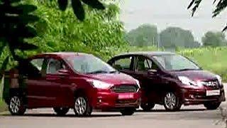 Honda Amaze vs Ford Figo Aspire