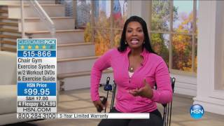 HSN | Healthy Innovations featuring Chair Gym 09.19.2016 - 02 AM