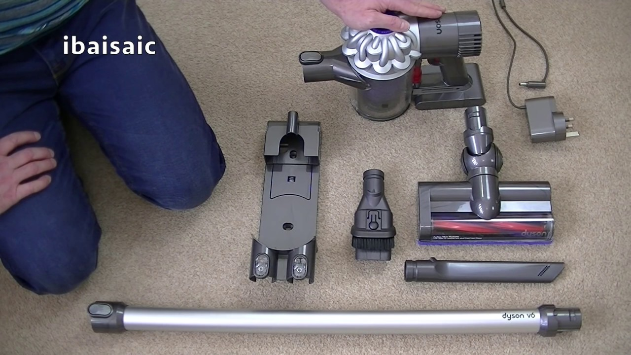 dyson v6 cordless vacuum cleaner demonstration review. Black Bedroom Furniture Sets. Home Design Ideas