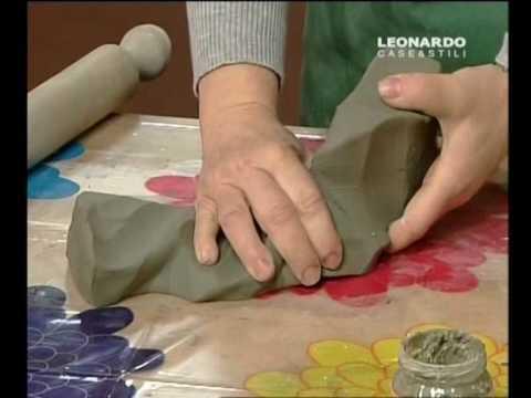 Fai da te corso base di ceramica vaso parte youtube