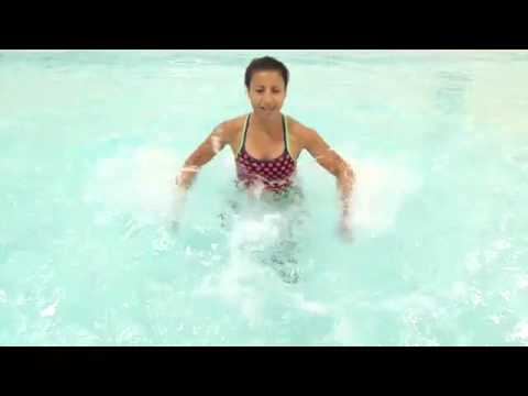 Aqua Instructor tip #51 arm variations for jogging