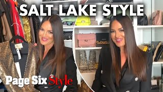 'Real Housewives of Salt Lake City' star Lisa Barlow shows off her closet | Page Six Celebrity News
