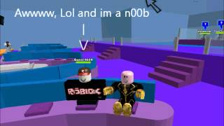 Talking to the Guest on roblox!!! (I've made up the words)