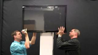 Mounting Flat Screen Tv On Trusst Glo Totem 2.0 Shop Time W/ Dj Jer