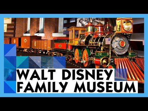 Walt Disney Family Museum Tour San Francisco Presidio Youtube