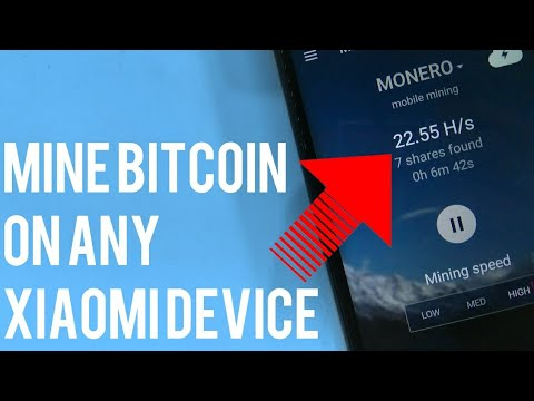 How To Mine Bitcoin On Any Xiaomi Device!Redmi Note 4/Redmi 4