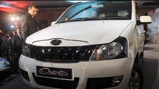 Mahindra launches Quanto at Rs 5.82 lakh