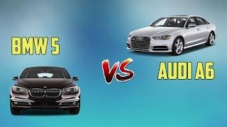 КРАШ ТЕСТ  Audi A6 и BMW 5 series