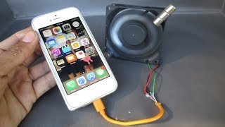 Free energy Mobile phone charger by magnets with fan computer - Awesome idea 2018