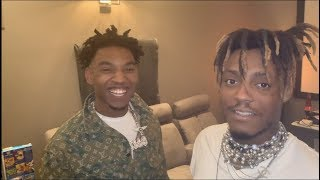 Smoking Mary Jane For The First Time W/ Juice Wrld and ZIas