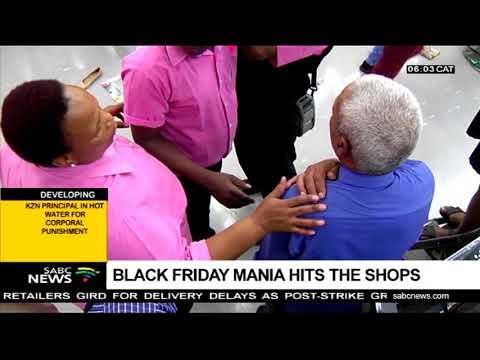 Black Friday mania hits the shops